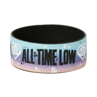 All Time Low Heart Logo Rubber Bracelet