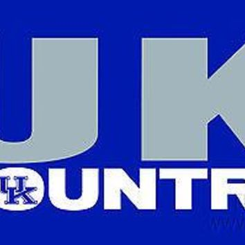 Kentucky Wildcats COUNTRY SD Deluxe Laser Cut License Plate Tag University of