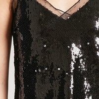 Sequin Lace Cami