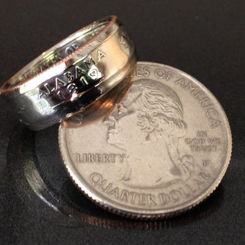 Alabama, State Quarter Coin Rings