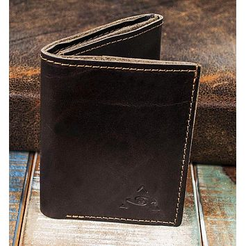 6-Slot Trifold Wallet - The Stanza (Horween Chromexcel Leather)