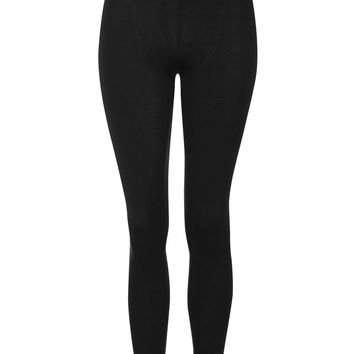 High Waisted Ankle Leggings | Topshop
