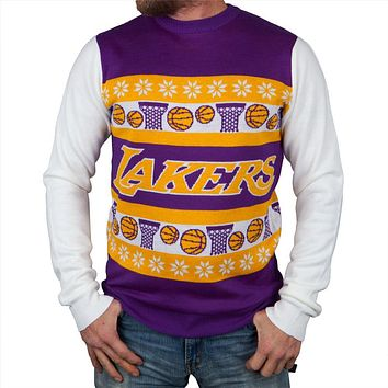 Los Angeles Lakers - One Too Many Ugly Christmas Sweater