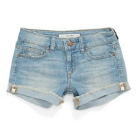 Joe's 'Finn' Rolled Cuff Denim Shorts (Toddler, Little & Big Girls) | Nordstrom