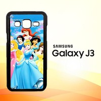 Disney Princesses V0108 Samsung Galaxy J3 Edition 2016 SM-J310 Case
