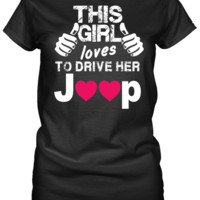This Girl - Loves To Drive Her Jeep