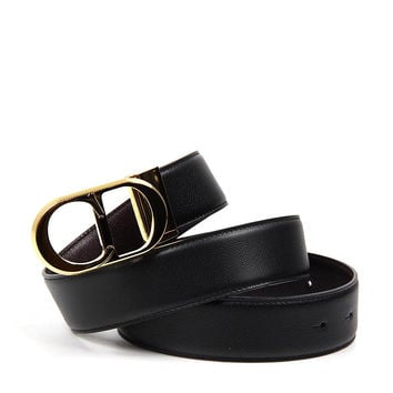 Christian Dior ladies reversible belt 41350GMUS