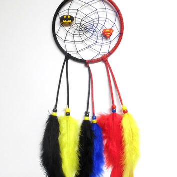Batman Versus Superman Dream Catcher