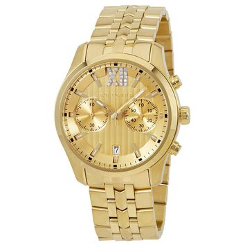 Wittnauer Chronograph Gold Dial Mens Watch WN3065