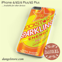 rockstar energy drink peach sparkling Phone case for iPhone 6/6s/6 Plus/6S plus
