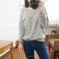 Autumn and winter leisure wild thin section sweater