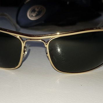 Ray Ban B&L OLYMPIAN Sunglasses gold aviator Easy Rider