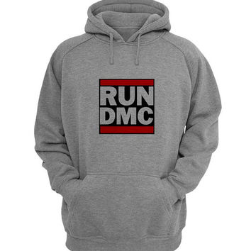 run dmc Hoodie Sweatshirt Sweater Shirt Gray for Unisex size with variant colour