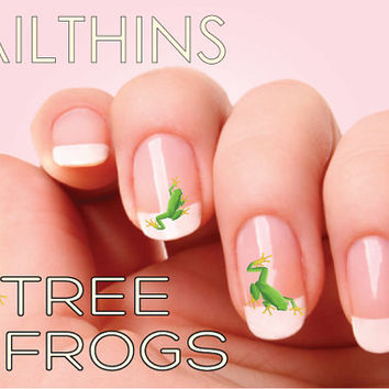 TREE FROG Nail Decal Nail Art NAILTHINS nail design
