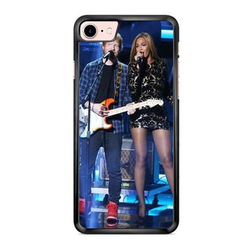 Ed Sheeran And Beyonce 1 iPhone 7 Case