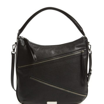 Marc by Marc Jacobs Serpentine Zipper Leather Hobo Bag