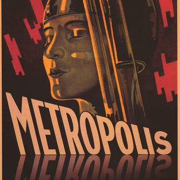 Metropolis Fritz Lang Movie Poster 24x36