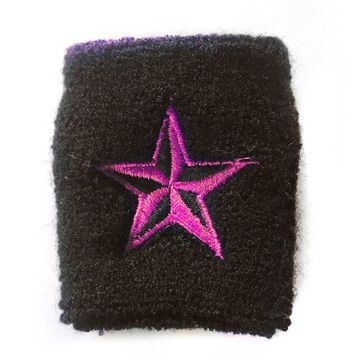 Deadstock Pink Nautical Star Wristband