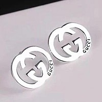 GUCCI Women Earring Fashion Stud Earring Jewelry Silver