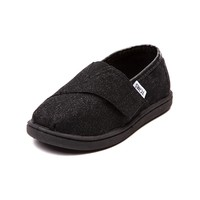 Toddler TOMS Classic Glimmer Casual Shoe