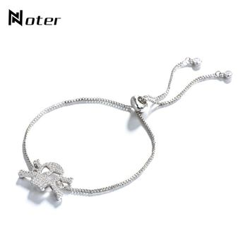Skull Bracelet Charms Adjustable Chain Braclet Viking Personalized Hand Jewelry
