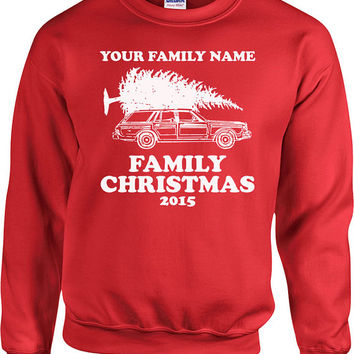 Funny Christmas Sweater Matching Family Christmas Hoodie Christmas Vacation Holiday Gifts Christmas Clothing Holiday Sweater Xmas - SA519