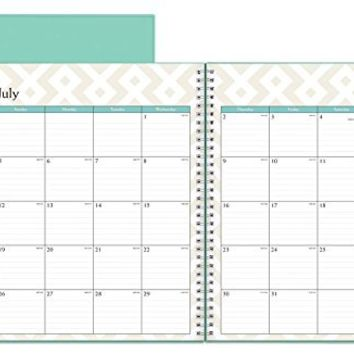 July 2015 - June 2016 Contempo Weekly/Monthly Planner 8.5x11