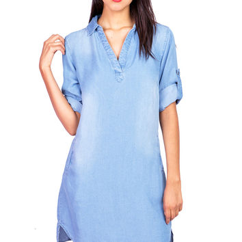 Limitless Chambray Dress