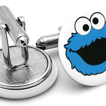 Cookie Monster Cufflinks