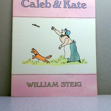 Caleb and Kate - 1977 Scholastic Vintage Children's Book