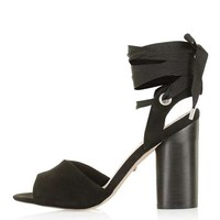 ROYAL Ankle-Tie High Sandals - Shoes