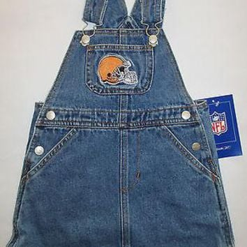 Cleveland Browns Reebok Infant Jean Skirt Jumper Size 18 Months