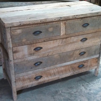 YOUR Custom Rustic Barn Wood Dresser