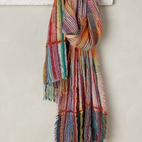 Tolani Adriatic Wool Scarf in Pink Size: One Size Scarves