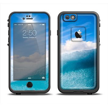 The Sunny Day Waves Apple iPhone 6 LifeProof Fre Case Skin Set