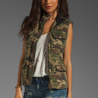 Capulet Quilted Vest in Camouflage from REVOLVEclothing.com
