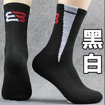Family Friends party Board game 5 pair Mens Pile Socks Male Terry Socks Sport High Cut Ankle Sock Pilesock Cycling Bowling Camping Hiking Socks 5 Colors AT_41_3