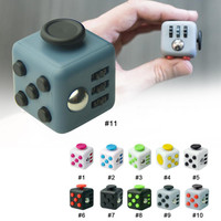 11 Style Tri-Spinner Fidget Cube Finger Puzzle Toys Puzzles & Magic Cubes Anti Stress Reliever Funny Relax Toys For Kids Gifts