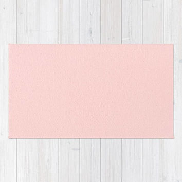 Blush Pink Area Rug, Light Pink Rug, Pastel Pink Bedroom Rug, Pink Nursery Decor, Light Pink Nursery Rug, Baby Pink Nursery Rug, Pink Rug