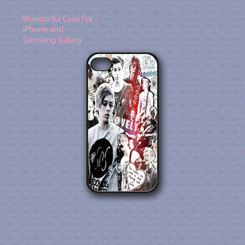 Luke Hemmings Collage - Print on hard cover for iPhone case and Samsung Galaxy case