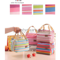 2016 Portable Insulated Thermal Cooler Lunch Box Carry Tote Storage Bag Case Picnic