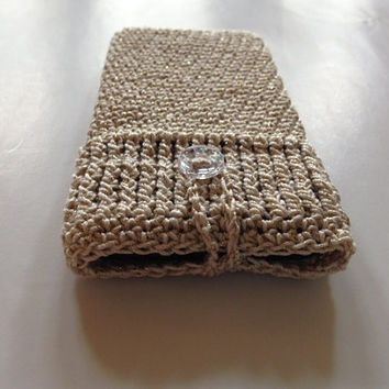 Cozy case Iphone 5 4 4S Samsung Galaxy 3S 4S Ipad Kindle Smartphone/Cellphone/Tablet/E-reader - Crochet - 100% Cotton