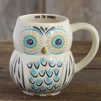 Love  The  Moment  Folk  Owl  Mug  From  Natural  Life