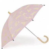 Hatley Store: Hatley Pink Labs Kids' Umbrella