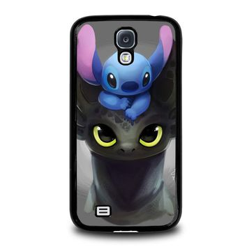 TOOTHLESS AND STITCH Samsung Galaxy S4 Case Cover