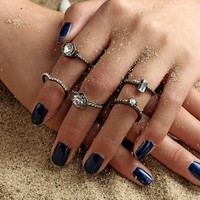 Stylish Jewelry Gift New Arrival Shiny Strong Character Korean Ring [11790888527]
