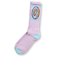 Odd Future Donut Lavendar Purple Crew Socks at Zumiez : PDP