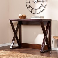 Derby Counter Height Universal Table - Espresso