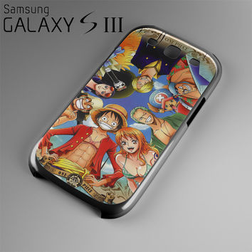 One Piece Manga Characters Case For Samsung Galaxy S3, S4, S5, S6, S6 Edge OP3