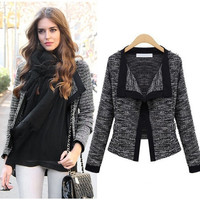 New Women Casual Loose Jumper Knit Cardigan Sweater Short Design Jacket Coat  SV006722 = 1904492100